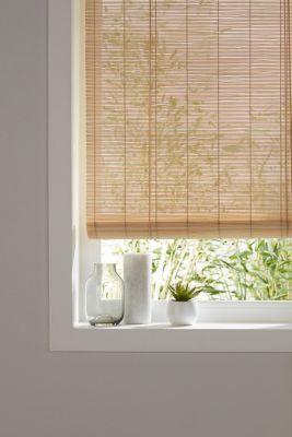 Store Enrouleur Bambou Naturel 120 X 180 Cm En 2020 Store