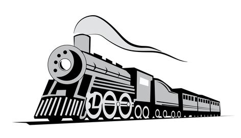 Free Vector Classic Locomotive Train Train Vector Vector Free Download Vector Free