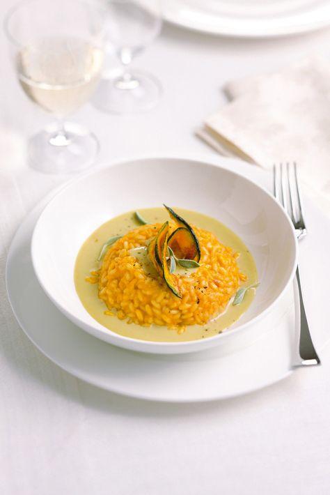 risotto alla zucca con salsa di gorgonzola dolce proposto da Sale&Pepe, scopri la ricetta per prepararlo!