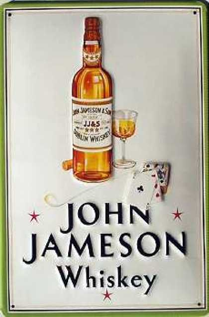 Buy this Jameson Bottle Vintage Metal Sign for your Pub or Home Bar