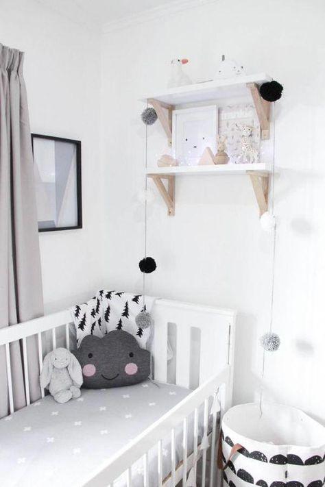 Deco Chambre Bebe Enfant Noir Et Blanc Scandinave Epure Graphique Decorationinterieurechambre Deco Chambre Bebe Decoration Chambre Bebe Deco Chambre Enfant