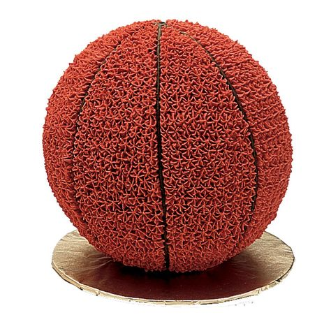 Hoop it up with this 3-D Basketball Cake, made in our 2-piece Sports Ball Pan!