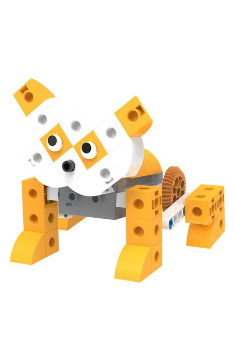 A highly interactive and fun robot-pet construction kit will keep your kiddo engaged for hours while learning how to build cute, robotic friends.