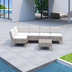 Encinitas 3 Piece Chat Set Conversation Set Patio Outdoor