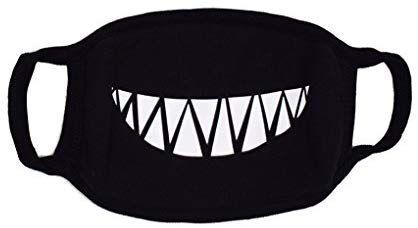 Amazon Com Caszel Mouth Mask Anime Cute Fashion Mask Emoticon