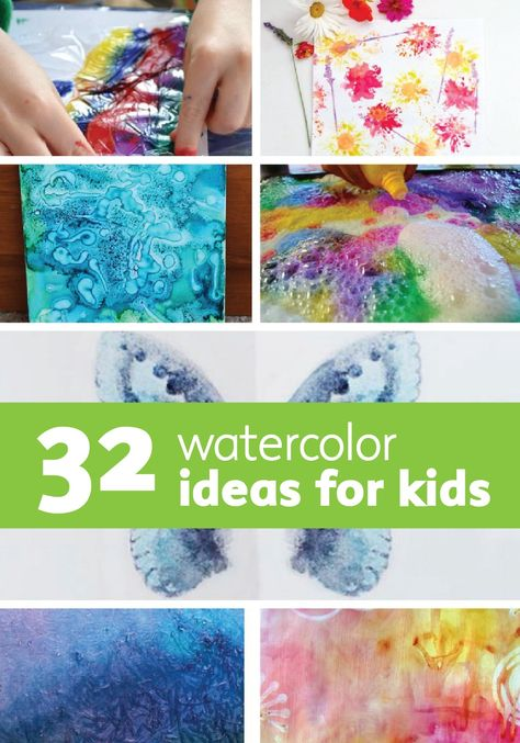 Splash on some color with amazing DIY watercolor art for kids. This is a fun and easy way to create custom wall art for their rooms and keep their minds creative all year long!