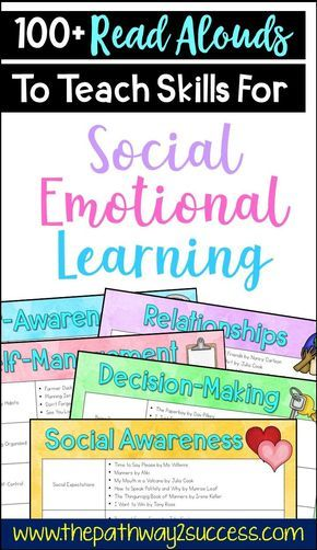 Read aloud short stories to integrate social emotional learning into the classroom. Elementary teachers and even middle school educators can use these texts to discuss SEL skills like empathy, friendships, emotions, decision-making and more. Read and Social Skills Lessons, Teaching Social Skills, Learning Skills, Coping Skills, Character Education Lessons, Social Skills Autism, Social Emotional Activities, Social Emotional Development, Leadership Activities