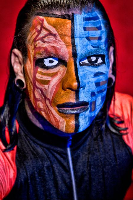 Jeff Hardy 2012 Face Paint