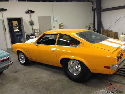 PRO STREET Chevy Vega V8 Conversion | This is one of the cleanest and no expense spared. pro street vega's ...