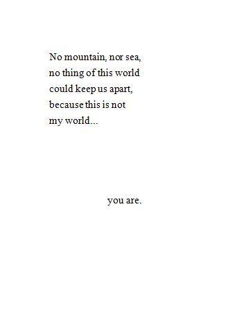 Short soulmate poems