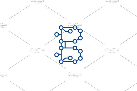 Blockchain technology,circuit line
