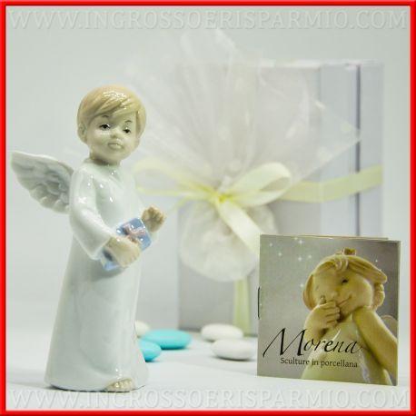 Bomboniere Angeli Per Comunione Bambino Con Vangelo Collezione Morena 2018 Offerta Negozio Online D7713 Comunione Bomboniere Bambini