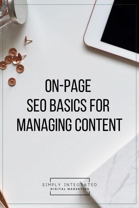 SEO Basics for Bloggers