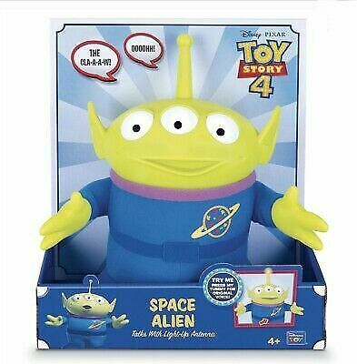 Toy Story 4 Talking Alien Plush Toy Brand New Hard To Find Space