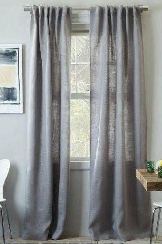 Burlap Curtains Grey Burlap Window Treatments Grey Burlap Home