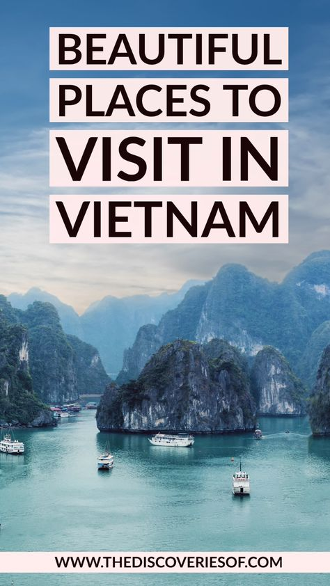 15 brilliant Vietnam travel destinations. From Ho Chi Minh City to Hanoi and Hoi An, these are the things to do in Vietnam that you shouldn't miss off your Vietnam itinerary. Let's go!