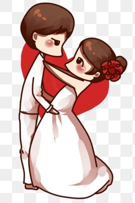 520 Valentines Day Wedding Couple Wedding Bride Clipart Bride And Groom Wedding Dress Png Transparent Clipart Image And Psd File For Free Download Valentines Day Weddings Wedding Couples Bride Clipart