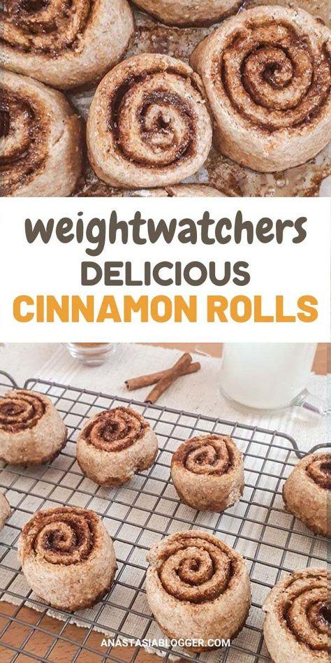 Best Weight Watchers Cinnamon Rolls - No Sugar or Refined Flour!