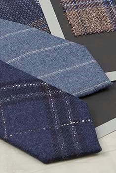 The Barberis Collection of Italian Wool Ties and Bow Ties