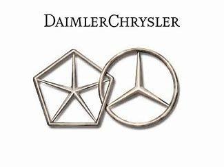 Mercedes Chrysler Merger Mercedes Chrysler Mercedes Benz Logo