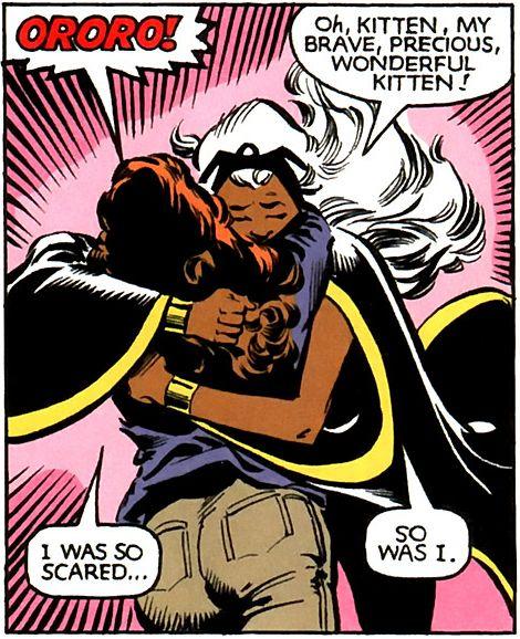Katherine Pryde Shadowcat And Ororo Munroe Storm Portfolio Ororo Munroe Storm X Men Villain Character Comic Book Characters