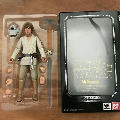 FROM JAPAN A NEW HOPE Action Figure ... S.H.Figuarts Star Wars Luke Skywaker