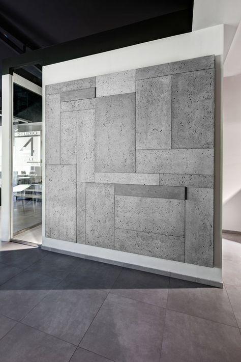 Wieliczka Poland 4style By Concreate Via Behance Concrete Panels Interior Concrete Wall Panels Concrete Walls Interior