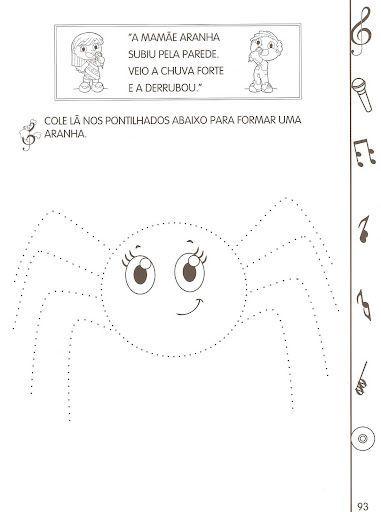 Resultado De Imagem Para Sequencia Didatica Dona Aranha