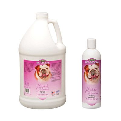 Bio Groom Natural Oatmeal Anti Itch Creme Rinse 4 1 In 2020 Dry Irritated Skin Conditioning Treatment Skin Protection