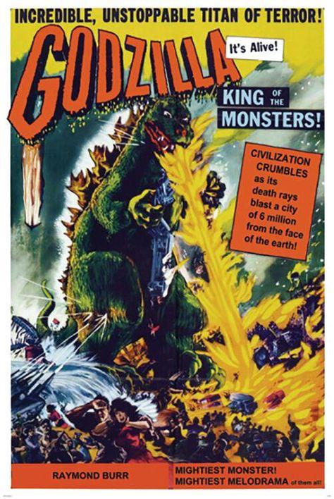 Godzilla - King of Monsters - Poster