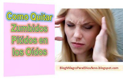 como quitar el zumbido del oido derecho
