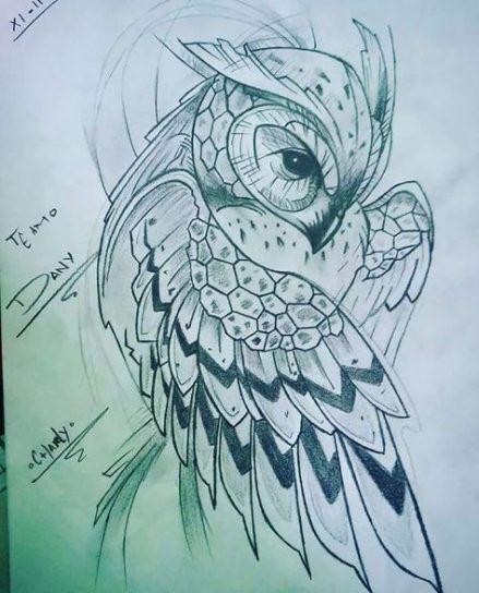 49 Ideas Drawing Skull Animal Behance Owl Tattoo Drawings Owls Drawing Owl Tattoo Design