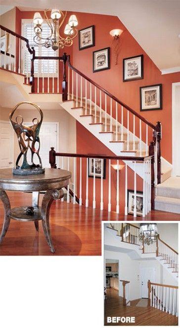 warm terracotta paint great room decor pinterest white trim terracotta and walls - Terracotta Wall Paint