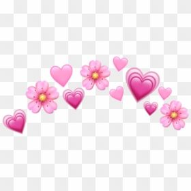 Flower Crown Png Heart Pink Heart Emoji Crown Transparent Png Anime Flowers Png In 2020 Pink Heart Emoji Heart Emoji Blue Heart Emoji