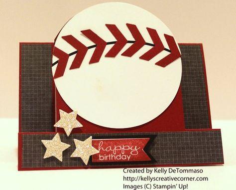 Baseball Step Card
