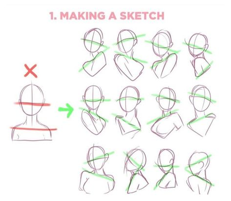 Digital Art Tutorial, Art Drawings Simple, Art Reference Poses, Drawings, Anatomy Art, Art Poses, Drawing Tutorial Face, Anime Drawings Tutorials, Body Drawing Tutorial