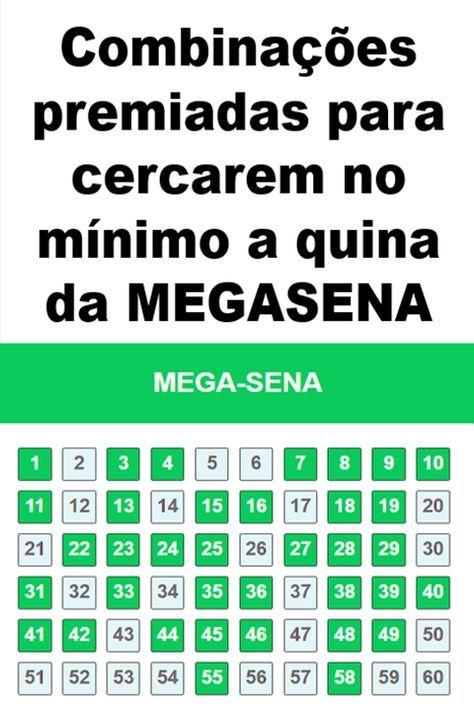 Monte Combinacoes Premiadas Para Gerarem Suas Apostas Na Mega Sena E Tenha Maiores Chances De Ganhar Nessa Loteria Mega Sena Sena Sonhar Com Numeros