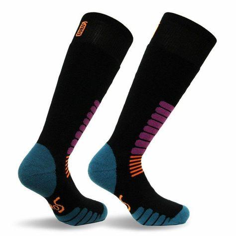 Forestgrow Mens High Performance Ski Socks Over the Calf Warm Snow Socks for Skiing and Snowboarding
