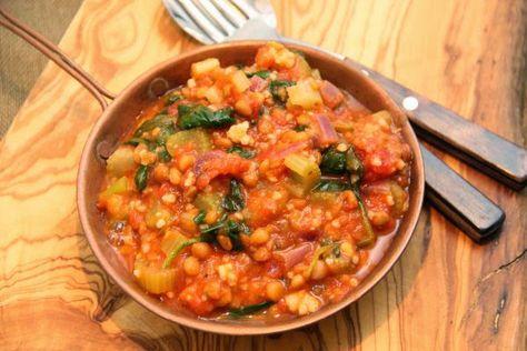 Kuchnia w wersji light: Gulasz warzywny z kaszą jaglaną