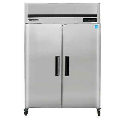 Details About Maxx Cold Double 2 Door Sub Zero Upright Reach In Frost Free Commercial Freezer With Images Commercial Freezer Locker Storage Sub Zero