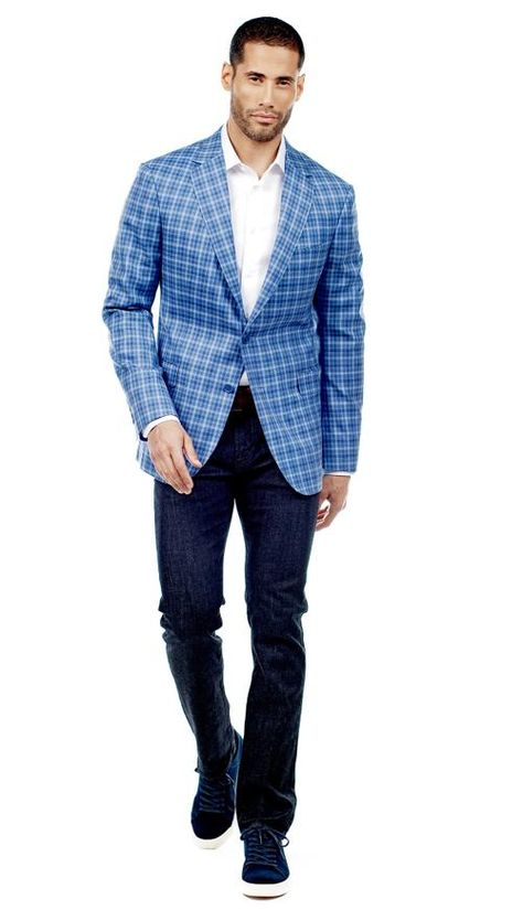 Light Blue and Navy Check Jacket  #menswear #mensfashion #graysuit #mensstyle #glennplaid #wedding #weddingsuit #groom #groomssuit #groomsmen #groomsman #weddingstyle #suitandtie #bluesuit #plaidsuit #strippedsuit #pinstripes #tux #tuxedo #weddingtuxedo #blacktux #plaid #plaidjackets
