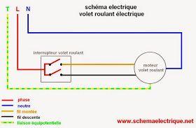 Schema Electrique Volet Roulant Schema Electrique Electrique Et