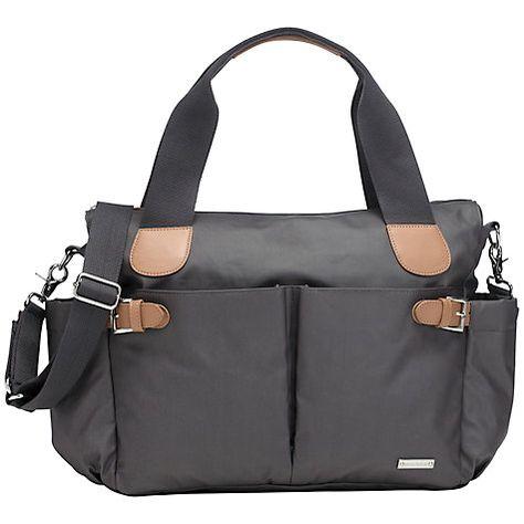Buy Storksak Kay Changing Bag, Grey Online at johnlewis.com