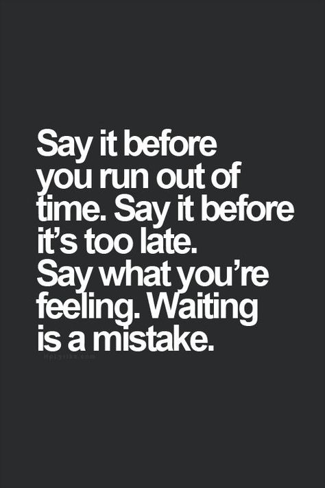 Excellent advice, & then there will be no regrets...