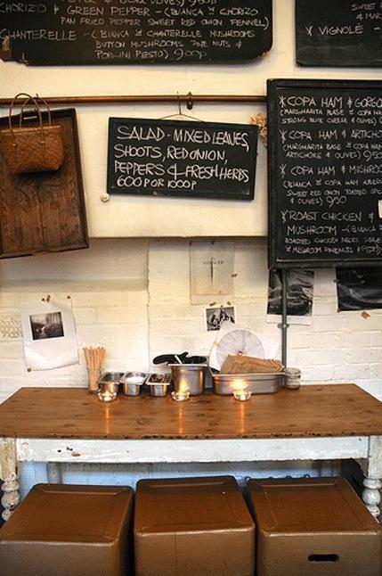 Restaurant Visit: Story Deli in London - Remodelista