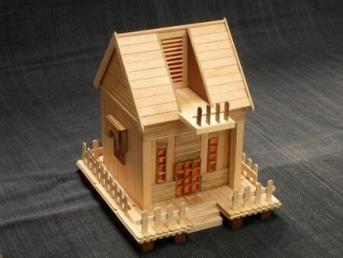 6600 Gambar Rumah Dari Stik Es Krim Gratis Terbaik