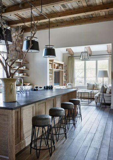 Kitchen Ideas Open Concept Rustic 21 Ideas Modern Farmhouse