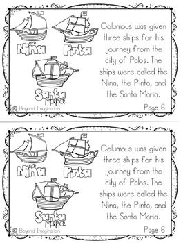 Columbus Day Activities And Printables Kindergarten Special Education Elementary Grades History Lessons