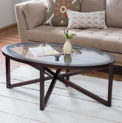 Glass Top Oval Coffee Table Oval Coffee Tables Oval Glass