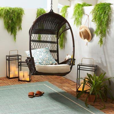 Swingasan Mocha Hanging Chair Pier 1 Furniture Pretty Furniture Patio Furniture